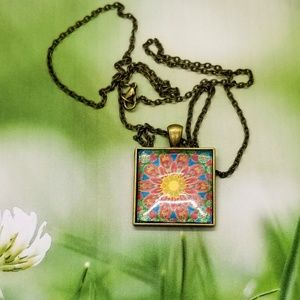 Jewelry - Mexican Tile Necklace